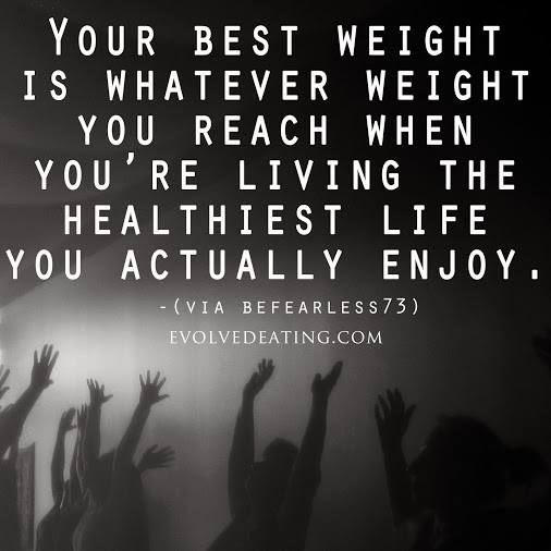 your best weight